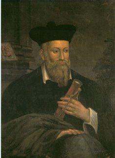 Michel de Nostredame dit Nostradamus,   1503-1566. Voir : https://pinterest.com/pin/287386019946795026/ & https://pinterest.com/pin/287386019949222105/