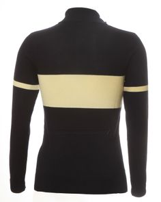 Navy Blue & Ecru Italian Merino wool retro cycling jersey from Jura Cycle Clothing Bike Wear, Cycling Jerseys, Cycling Outfit, Navy Blue, Turtle Neck, Bicycles, Mountain Biking, Long Sleeve, Merino Wool