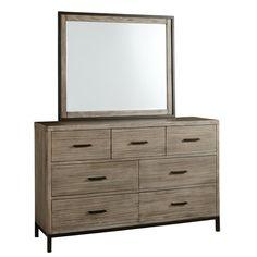 Lipsey 7 Drawer Double Dresser | AllModern