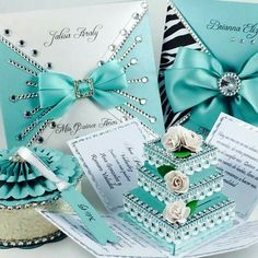 The blingiest quince invites love them