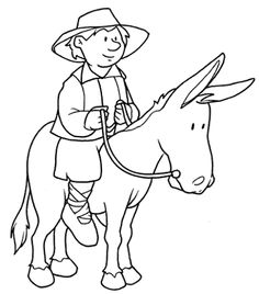 Dibujos para colorear de Don Quijote para niños Online Coloring Pages, Printable Coloring Pages, Coloring Pages For Kids, Coloring Books, Page Online, Kids Online, Dom Quixote, Printable Activities For Kids, Crafts For Kids
