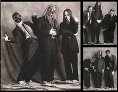 Sometimes I never know what to pin...So here's this funny picture of Slipknot in suits.Because, well...It's great.