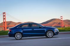 2015 Audi A3 Sedan. Nice shot.