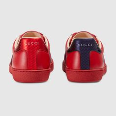 Gucci Baskets brodées Ace Detail 4