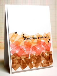 N: Kindness Matters by *茵~, via Flickr