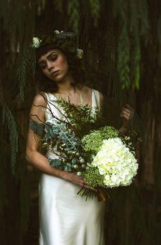 Ethereal and Elegant Botanical Winter Wedding Style | Love My Dress® UK Wedding Blog