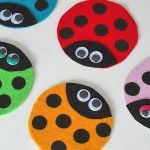 They are fun, cute, colorful and most of all, kids love them. I don't think there's more affection for a bug (well, maybe lightning bugs) that there is for the ladybug.