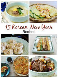 15 Korean New Year Recipes - Korean Bapsang food ideen ideas food food food South Korean Food, Korean Street Food, Asian Recipes, Healthy Recipes, Ethnic Recipes, Healthy Food, Asian Desserts, Kimchi, Korean New Year