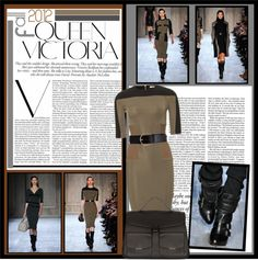 """""""Victoria Beckham Fall 2012"""" by lisabedow on Polyvore"""