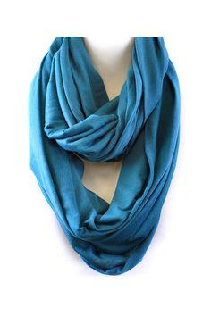 Lori Infinity Scarf in Blue