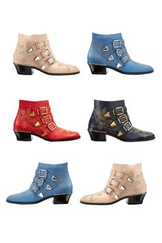 Oh Susanna! Chloe's Susanna Ankle Boot in a shade for everyone.