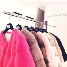 Beautiful colours @lillyevioletta #luxury #exclusive #fur #lillyevioletta find them @barneysnyofficial