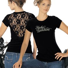 Harley-Davidson Womens Lacy T | MonsterMarketplace.com