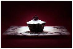 """Blood Rose Cupcake"" - lightjet photograph by Jonathan Cameron Still Life Photography, Food Photography, Food Themes, High Tea, Rose Cupcake, Level 3, Board Ideas, Photographers, Blood"