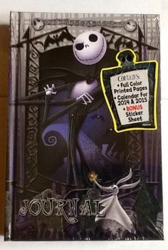 Tim Burton's The Nightmare Before Christmas! 20th Year Anniversary Jack Skellington Journal The Nightmare Before Christmas http://www.amazon.com/dp/B00FOS8WYY/ref=cm_sw_r_pi_dp_bNihub0TGMJ79