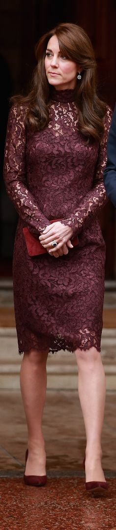 Kate Middleton In Dolce & Gabbana – President of the Peoples Republic of China State Visit