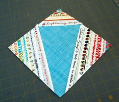 How to make a Blue Zinger quilt block (a take-off on the Red Zinger, LOL) :)  Here's what a finished Blue Zinger looks like - http://selvageblog.blogspot.ca/2010/05/jen-duncans-blue-zinger.html --- mine just might be a PINK zinger!  :)
