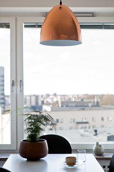Södermalm matplats utsikt kopparlampa