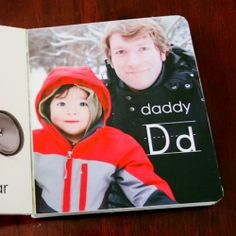 Learn how to make a personalized board book featuring your family!