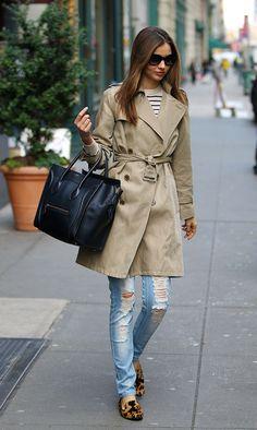 In the Trenches: Miranda Kerr's Style Lookbook - Lookbooks, Photos | ModaMob