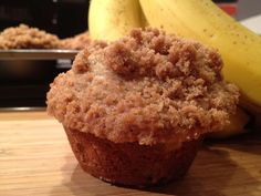 Our current favorite Banana Muffins (no chocolate chips needed)