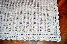 Heirloom Lace  Pattern from Best of Terry Kimbrough Baby Afghans