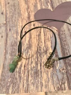 Items similar to Green Adventurine Necklace. on Etsy Green Adventurine, My Etsy Shop, Hoop Earrings, Stone, Trending Outfits, Unique Jewelry, Handmade Gifts, Vintage, Kid Craft Gifts