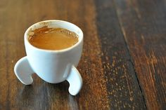 Start your morning with a blast of caffeine fuel with the Rocket Espresso Cup. 10 Artful Espresso Cups | Food Republic.
