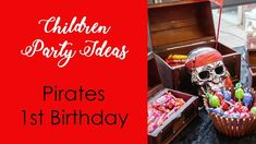 Kids party ideas  pirate party / party ideas for boys
