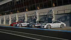 Un reportage sur la journée d'essais sur le circuit Bugatti avec le Porsche Driving Center.