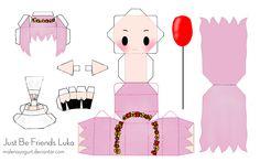 Just Be Friends Luka Papercraft by ~MalenaYogurt on deviantART