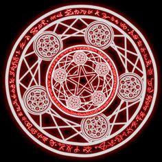 Spell circles | Magic circle by Kagamika