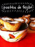Pastéis de feijão (literraly translated as 'Bean pastries') are a typical sweet from Torres Vedras in Portugal. One of my parent's neig...