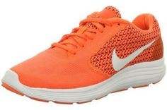 Nike Nike Revolution 3, Damen Laufschuhe, Damen Laufschuhe, Grau (orange/grau), 43 EU - http://on-line-kaufen.de/nike/43-eu-nike-nike-revolution-3-damen-laufschuhe-2