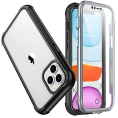 #SPIDERCASE #iPhone12ProMax Heavy Duty Case With Built-in #ScreenProtector