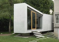 Can you still call it a Garden House? Beautiful, nontheless... By Bevk Perovic architekti from Ljubljana...