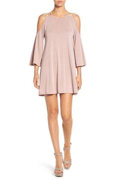 Cold Shoulder Knit Shift Dress available at Junior Outfits, Junior Dresses, Women's Dresses, Fairytale Fashion, Nordstrom Dresses, Knit Dress, Beautiful Outfits, Cold Shoulder Dress, Fashion Outfits