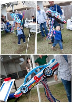 Racing car party ideas