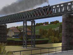 Behelfsbrücke aus R-Gerät (eingeschossig). Ab #EEP8