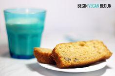 Bizcocho de manzana y nuez #vegan #veganfood #recetas