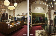 Slowear Shops | Carlo Donati Studio Oversized Mirror, Studio, Projects, Shops, Shopping, Furniture, Home Decor, Log Projects, Blue Prints