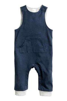 Macacão sem mangas em jersey, H&M