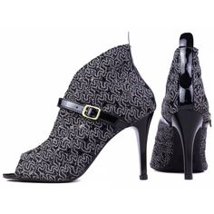 5db3a098a0 Sandalia Ankle Boot Feminina Fechamento Fivela Lateral Cor Preto -  VMZTREF800816