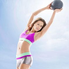 Tone your body all over in just 21 days. This total-body turnaround plan will not only upgrade your body but it will also change your exercise attitude in the best way. Tackle this workout plan at home with a 5-to-10-pound medicine ball or a dumbbell of the same weight.