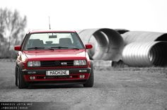 #beautifullaggression Golf Mk2, Old School, Badass, Cars, Vehicles, Vw, Autos, Car, Car