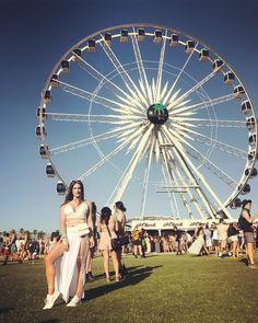 Coachella day 2 #coachella #day2 #allwhite #coachella2018 #palmsprings #california #festivalvibes Palm Springs, Coachella, Beverages, Fair Grounds, Bohemian, California, Adventure, Travel, Instagram