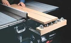 Table Saw Outfeed Support by woodworkingtips.com -- Homemade table saw outfeed support constructed from lumber, drawer slides, and ball bearings. http://www.homemadetools.net/homemade-table-saw-outfeed-support