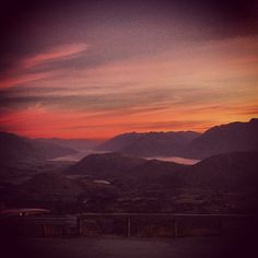 Photo by alinenzed  Sunset from coronet peak  #queenstown #coronetpeak #newzealand #leagueofgentlemen