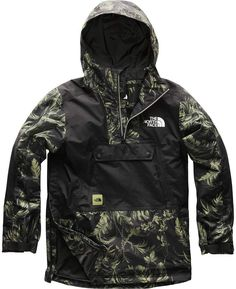 The North Face Silvani Anorak Jacket – Men's Swag Outfits Men, Fashion Outfits, Men's Coats And Jackets, Winter Jackets, Tactical Clothing, Outdoor Apparel, Anorak Jacket, Mens Clothing Styles, North Face Jacket