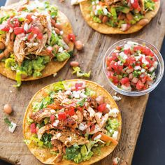 Chicken Tostadas wit